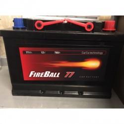 Akumuliatorius Fireball 77Ah 760A EN *PIGIAUSIA* !