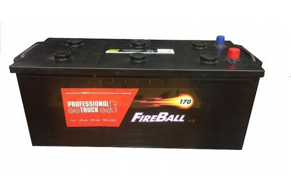 Akumuliatorius Fireball+ 170Ah 1100A EN *TRAKTORIAMS , VILKIKAMS*