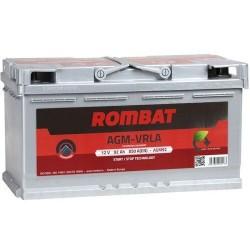 Akumuliatorius Rombat Start-Stop AGM 92 Ah