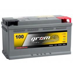 Akumuliatorius Grom Premium 100Ah 850 A EN 12V